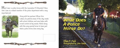 Tack ID: 557825 What Does A Police Horse Do? - PhotoID: 144781 -  15-May-2020 Days Left: 48