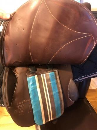 Tack ID: 563614 17.5 Voltaire Palm Beach Full buffalo leather - PhotoID: 147065 - Expires 16-Sep-2021 Days Left: 124